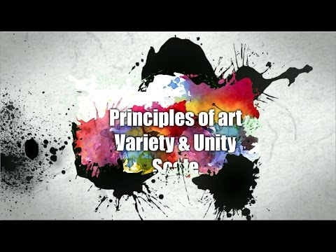 Principles of art - Variety, unity, scale - patreon.com/EpicArtAcademy