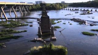 RVA's James River, Downtown Richmond, VA
