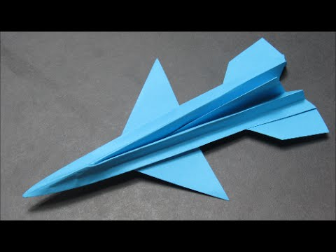 how to make the paper airplane f16 origami kağıttan