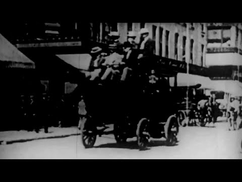 The Living Past New York City and Other Happenings From 1900 - 1901 Vintage Footage