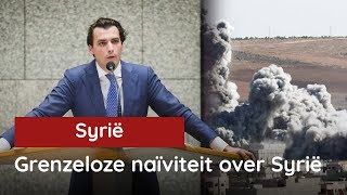 Baudet over de situatie in Syrië op 19 april 2017