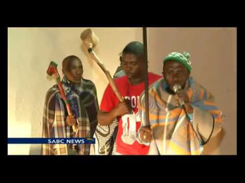 Lesotho herds men find solace in music