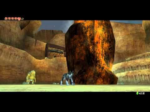Zelda Twilight Princess HD How To Melt The Ice Zora River
