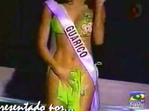 bikini Miss accident venezuela
