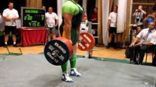 Mikhail Koklyaev - RAW Deadlift 415kg HQ