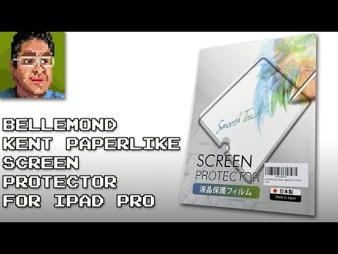 """Bellemond Kent Paperlike Screen Protector For 2018 12.9"""" IPad Pro Review"""
