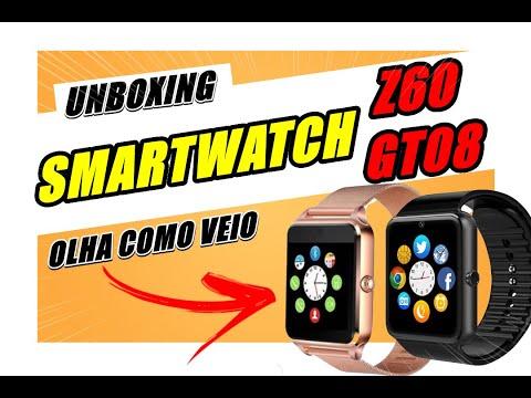 SMARTWATCH Z60 E GT08 DZ09 UNBOXING DUPLO 2019 ALIEXPRESS