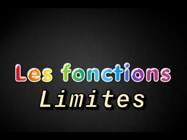 Limites de fonctions et calculs - Exercices de maths corrigés - Maths terminale