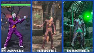 DC Universe MKVSDC Injustice THE JOKER Graphic Evolution 2008-2017 | XBOX360 PS4 |