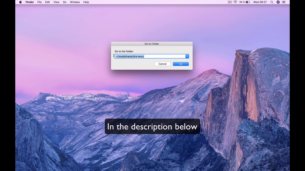 How to find the citra save file on mac ?