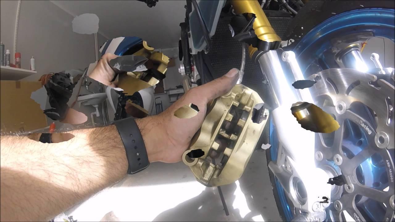 how to clean brake caliper and change brake pads bmw ...