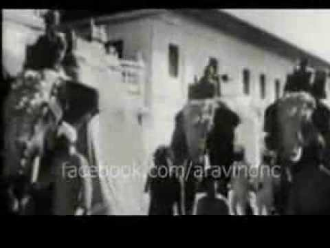 RARE FOOTAGE of Sree Chithira Thirunal of Travancore during 1936 [History of Trivandrum]