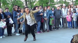 вот это Да! Танец огня танцует зритель! Sumac kuyllur Danza del fuego (Inti Taki) Moscow.ВДНХ