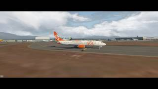 X-Plane 11 + Ortho4xp + W2xp Europe, Descent On Nice Lfmn - Gogol1st