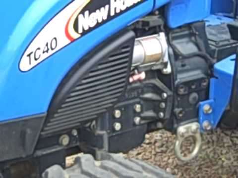 hqdefault new holland tc 40 da tc40 4wd tractor youtube new holland tc40 wiring diagram at fashall.co