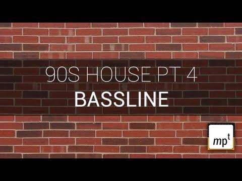 Producing a 90s House Track - Part Four - Bassline