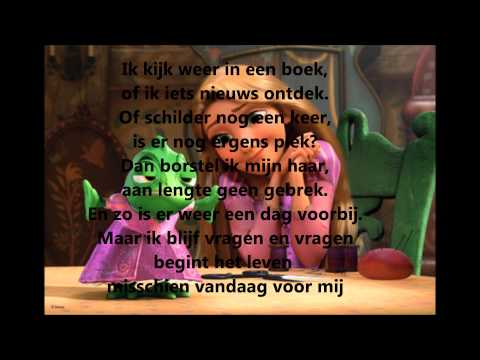 Rapunzel, begint het leven vandaag voor mij