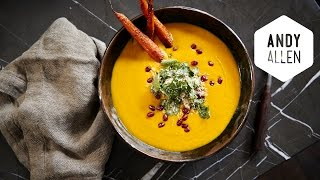 How To Make Coconut Carrot Soup With Coconut Oil | H2coco Pledge | Andy Allen
