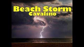 Beach storm 1