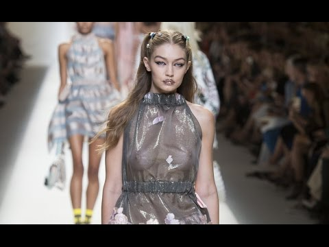 FENDI Highlights Show Spring Summer 2017 Milan by Fashion Channel