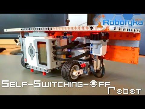 Self-Switching-Off Robot - Robot do denerwowania ludzi
