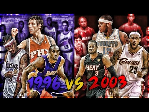 1996 vs 2003 NBA DRAFT CLASS! - Who Would Win?!