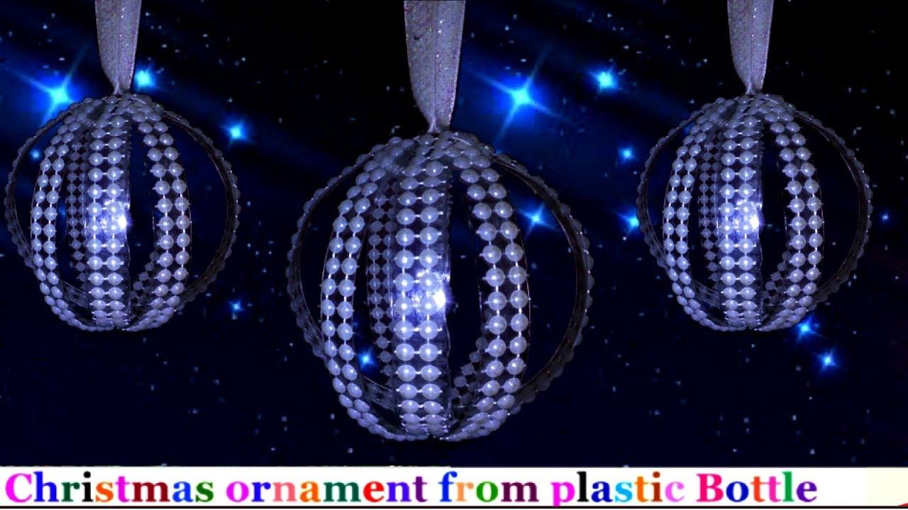 Handmade Christmas Ornaments From Plastic Bottle Christmas