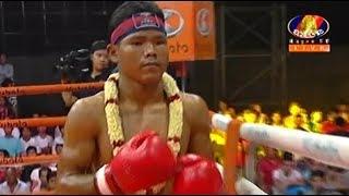 Sok Thy(Kaka) vs Phetnginthorng(thai0, Khmer Boxing Bayon 11 May 2018, Kun Khmer vs Muay Thai