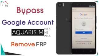 Eliminar Cuenta Google BQ AQUARIS M10 FRP