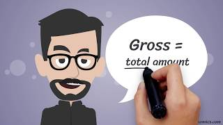 Net vs. Gross (Income, Pay/Salary, etc.) in One Minute: Definition/Difference, Explanation, Examples
