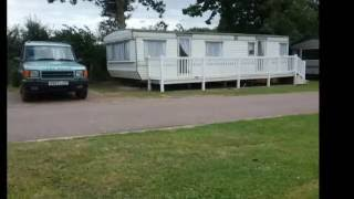 Caravan to let in Suffolk