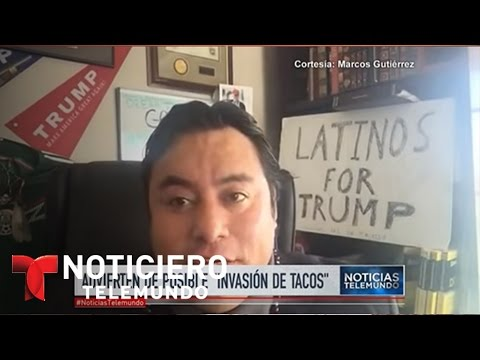 Cofundador de Latinos por Trump ofende a muchos | Noticiero | Noticias Telemundo