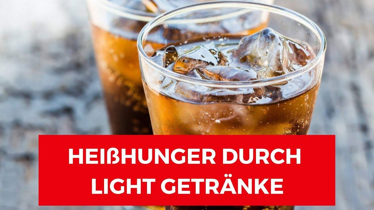 Light Getränke zum Abnehmen | Sorgt Süßstoff für HEIßHUNGER ? - YouTube
