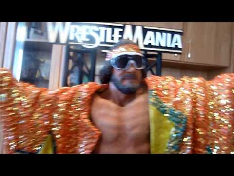 Macho Man Randy Savage WWE Icon Series Limited Edition Resin Statue unboxing McFarlane