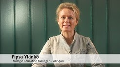 Pipsa Ylänkö – Strategic Education Manager, AOSpine