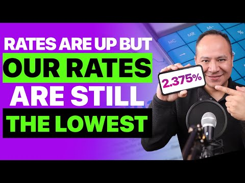 🆕 Mortgage Rates Continue Up 🚨 But OUR RATES are still the LOWEST! ISRAEL INFO