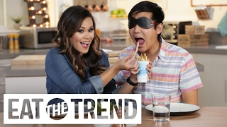 Blind Taste Test With Jimmy Wong | Eat the Trend: Indulge Me