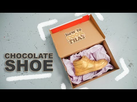How to make a CHOCOLATE shoe! How To Cook That Ann Reardon