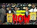 The Day LA Lakers signed Lebron James Free agency KCP intro dissected Rob Pelinka Magic Johnson NBA