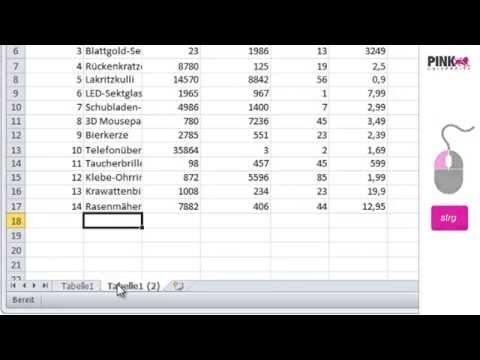 Excel 2010: Tabellenblätter schnell in neue Registerkarten kopieren ...