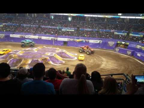 Full Racing Coverage Monster Jam Oklahoma City, Oklahoma 2017
