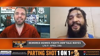 Demoreo Dennis talks LFA debut Apr. 14th, training with UFC champ Stipe Miocic & SNES games