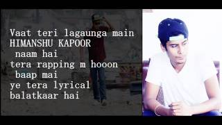 Desi Hip Hop Inc | YAHA MERI CHALTI HAI | Kapoor Da Rapstar ft Rapper Sindhi | 2016 HINDI RAP |