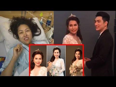 """Mặc Phi Thanh Vân chi mạnh phẫu thuật 3 vòng Bảo Duy hí hửng khoe ảnh cưới xinh lung linh của""""vợ mới"""