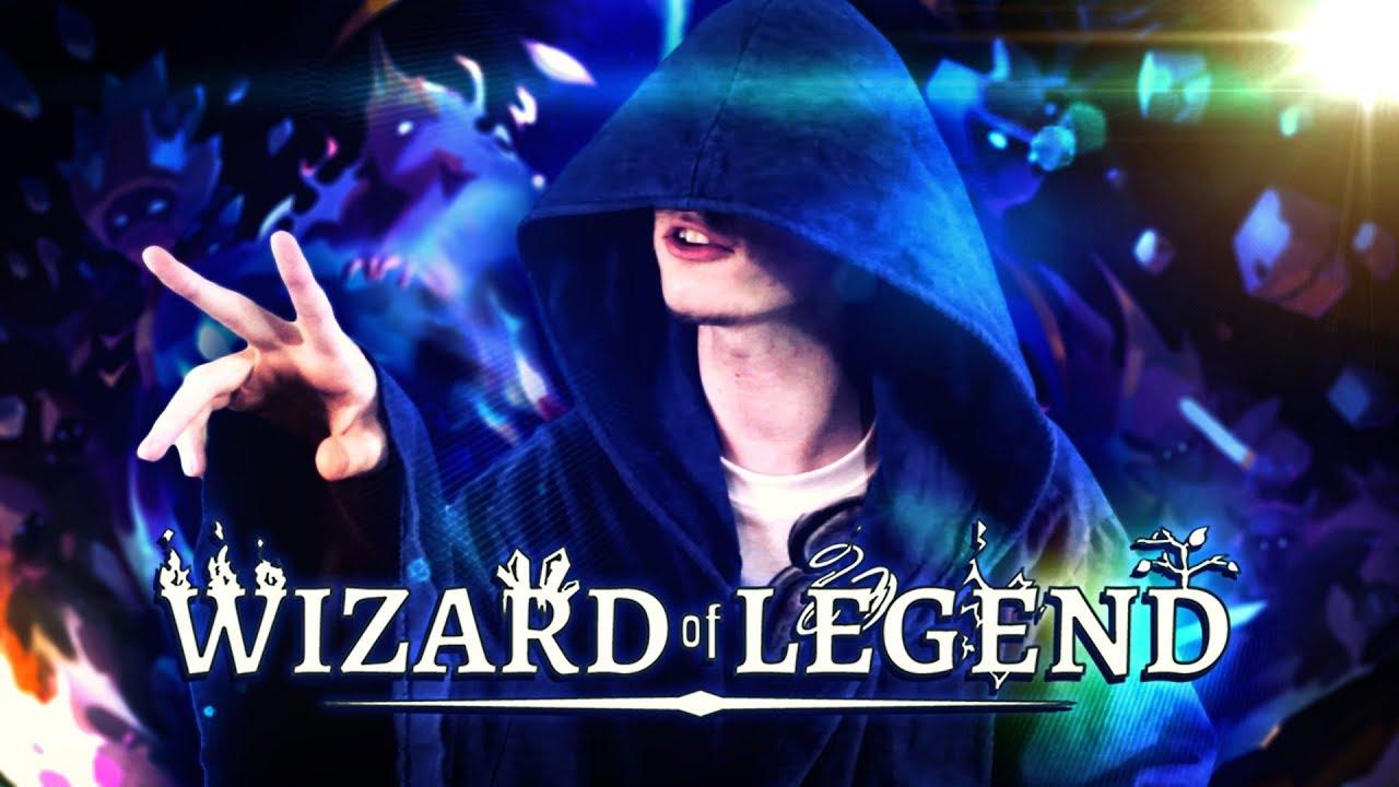 JESTEM MAGICZNYM MAGIEM! ᕕ(ᐛ)ᕗ | Wizard Of Legend
