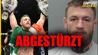 3 ABGESTÜRZTE UFC Champions! Knast, Doping und Rauswürfe!