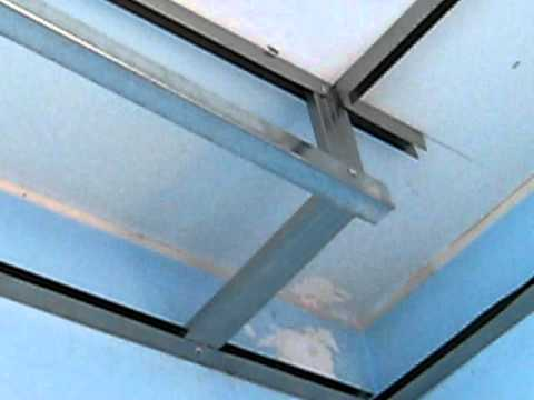 Installation of drywall frame   youtube