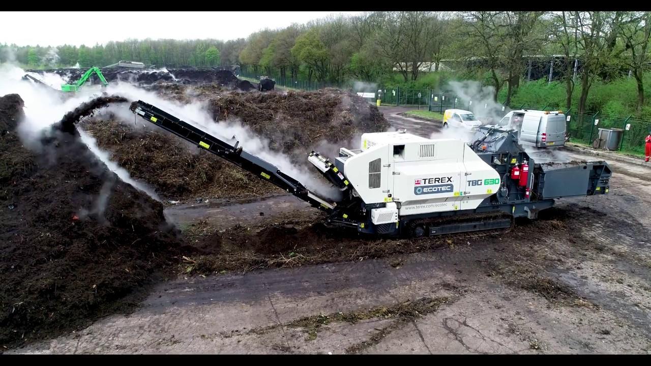 TBG 630 High Speed Waste Shredder   Terex Ecotec