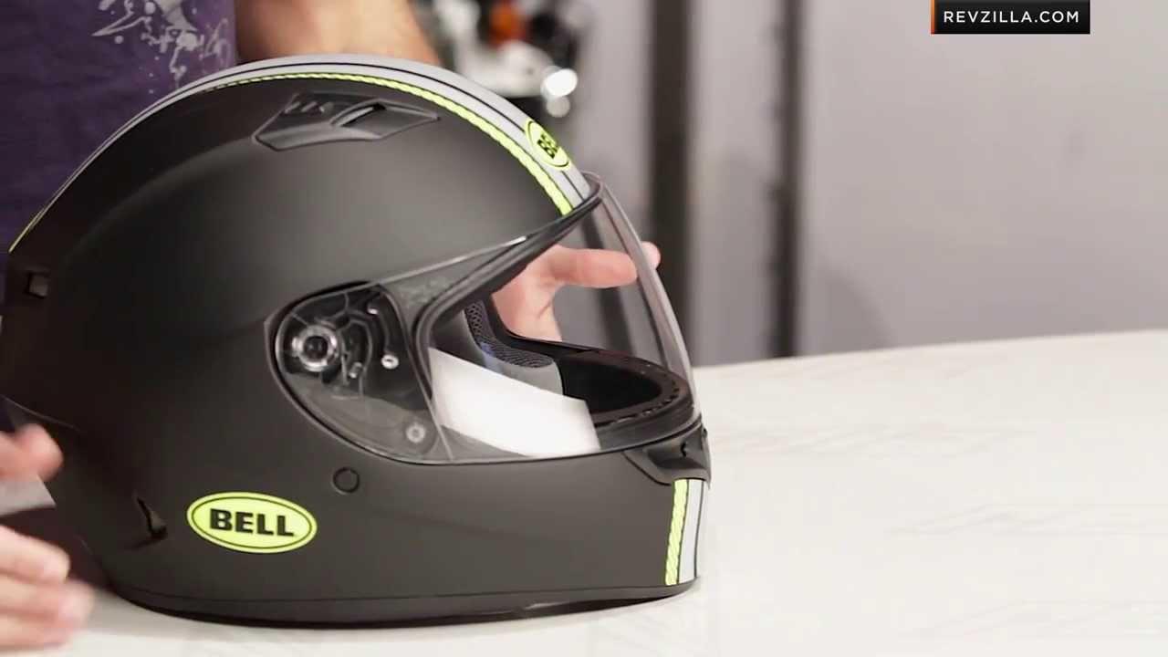 Bell Racing Helmets >> Bell Qualifier Hi-Vis Rally Helmet Review at RevZilla.com - YouTube