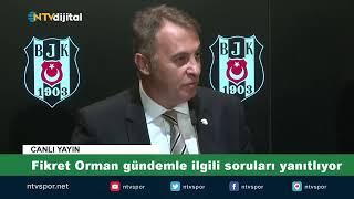 CANLI | Beşiktaş'ta altyapı için işbirliği